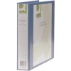 Q-Connect KF01331 blue A4 Presentation 4D ring binder