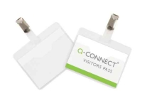 Q-Connect KF01560 Visitor Badge 60x90 mm, pack of 25  235171