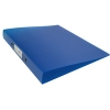 Q-Connect KF02483 2-Ring Binder A4 Frosted Blue 1-pack