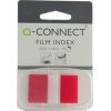 Q-Connect KF03633 1-inch red page markers, pack of 50 KF03633 235093