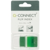 Q-Connect KF03635 1-inch green page markers, pack of 50 KF03635 235095