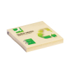 Q-Connect KF05609 (recycled) Notes Yellow (76mm x 76mm)
