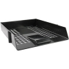 Q-Connect KF10050 black letter tray