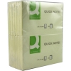 Q-Connect KF10503 Quick Note Repositionable Pad 12-pack (76mm x 127mm)