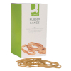 Q-Connect KF10542 elastic bands 127mm x 3.2mm (500g pack) KF10542 500607