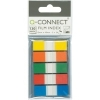 Q-Connect KF14966 half-inch page markers assorted pack