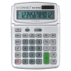 Q-Connect KF15758 Large Table Top 12 Digit Calculator Grey