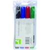Q-Connect KF26038 whiteboard marker assorted 4-pack