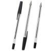 Q-Connect KF26040 black ballpoint pen 50-pack