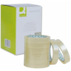 Q-Connect KF27016 easy-tear tape 19mm x 66m, pack of 8 rolls KF27016 235076