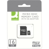 Q-Connect Micro SD Card 16GB, Class 10, KF16012 KF16012 246214
