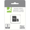 Q-Connect Micro SD Card 8GB, Class 10, KF16011