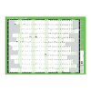 Q-Connect Year Planner Unmounted 855 x 610mm 2021, KFYPU21  299095