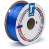 3D Filament PETG transparent blue 1.75mm 1kg (REAL brand)
