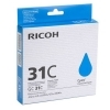 Ricoh GC-31C (405689) cyan gel cartridge (original Ricoh) 405689 073946