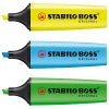 Stabilo BOSS fluorescent yellow, blue and green 3-pack