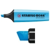 Stabilo Boss fluorescent blue highlighter 70/31 7031 200002