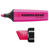 Stabilo Boss fluorescent lilac highlighter 70/58