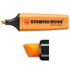 Stabilo Boss fluorescent orange highlighter 70/54