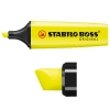 Stabilo Boss fluorescent yellow highlighter 70/24
