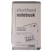 White Box Spiral Shorthand Notebook 10-pack, 80 pages, WX31003, 203mm x 127mm WX31003 246106