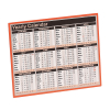 Year to View Calendar 257 x 210mm 2021 KFYC121  299100